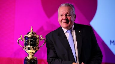 Bill Beaumont, the World Rugby chairman pictured earlier this month with the Webb Ellis Cup.