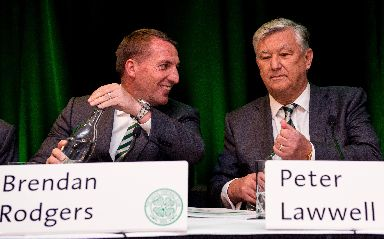Voice: Lawwell (right) is on the board of the ECA.