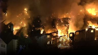Barclay Friends Senior Living Community was quickly engulfed by flames.