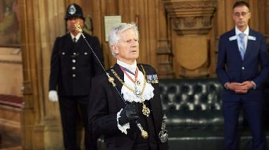 Gentleman Usher of the Black Rod David Leakey will leave the post at the end of the year.