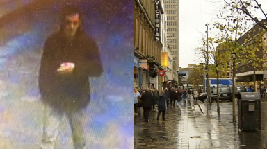 Police: The incident happened on one of Glasgow's busiest streets.