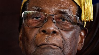 Mugabe has been in power for nearly four decades.
