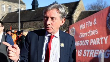 Richard Leonard: Labour leader welcomed mental health commitments (file pic).