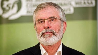 Gerry Adams is expected to make a big announcement on Saturday.