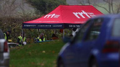 Investigators attended the crash site