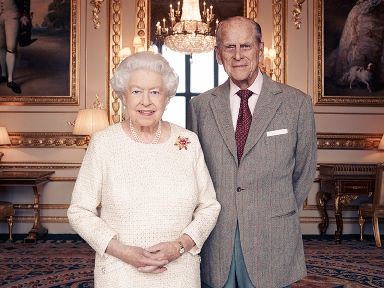 The Queen and the Duke of Edinburgh celebrate their platinum anniversary on Monday