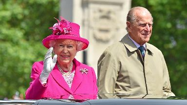 The Queen once famously referred to her husband as her 'strength and stay'