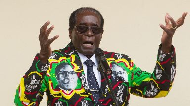 Robert Mugabe faced a 'bloodless coup' after moving to install his wife as his sucesssor.