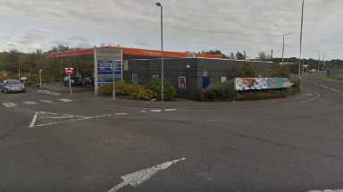 Attempted robbery: Sainsbury's staff raised the alarm.