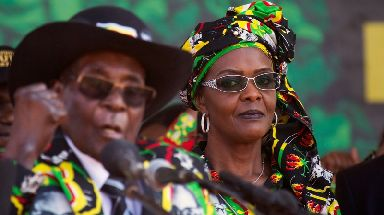 Mr Mugabe positioned the unpopular first lady to replace him.