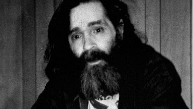 Dead: Charles Manson died aged 83.