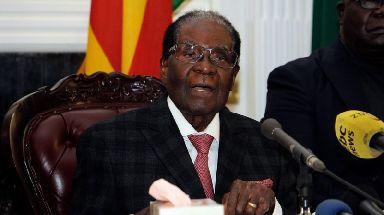 Robert Mugabe refused to resign on Sunday.
