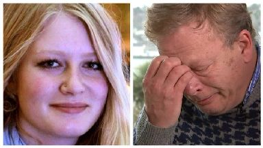 Gaia Pope's father in emotional tribute