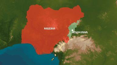 The blast occurred in Adamawa state in Nigeria.