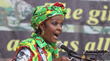 Many believed Grace Mugabe would succeed her husband as president.