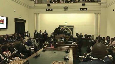 Zimbabwe's parliament begins impeachment proceedings.