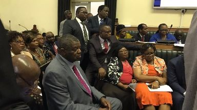 Inside Zimbabwe's parliament as impeachment proceedings begin.