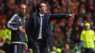 Target: Emery wants first place for PSG.