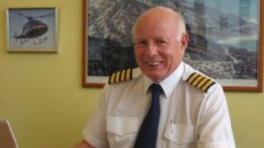 Captain Mike Green was paid tributes by friends and colleagues