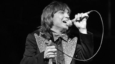 Cassidy in concert in 1974.