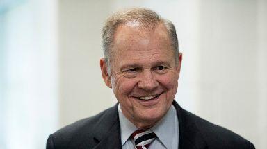 Republican Senate nominee Roy Moore.