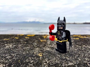 Even superheroes need help. In a coastal, beach or cliff emergency always dial 999 and ask for the coastguard.