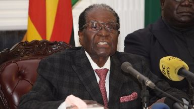 Robert Mugabe resigned after 37 years in charge.