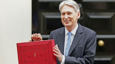 Budget: Philip Hammond was lobbied over the change by Scottish Conservative MPs.