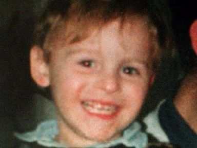 James Bulger was two when he was murdered in February 1993
