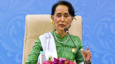 Aung San Suu Kyi has faced international condemnation for her response to the crisis