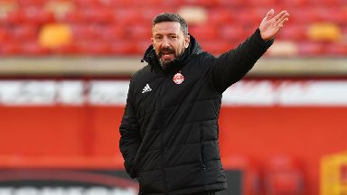 Derek McInnes: 'Unfinished business' at Aberdeen.