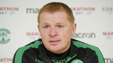 Neil Lennon: The Hibs boss is preparing to steer his side through a packed festive fixture list.
