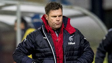 Interim Rangers boss Graeme Murty saw his side lose 2-1 to bottom of the table Dundee.