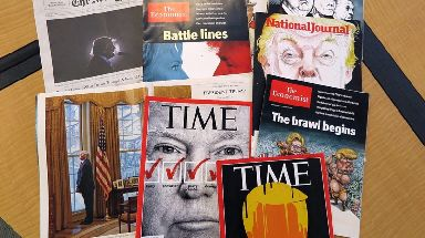 Mr Trump has often claimed to have been on the most covers of Time magazine.
