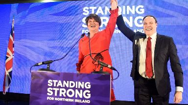 Arlene Foster at the DUP party conference.
