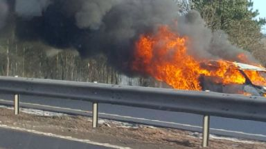 Blaze: Southbound lanes have been closed.
