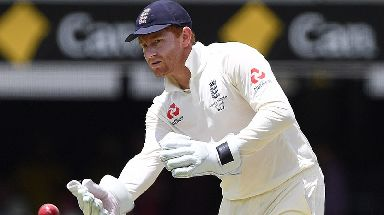 Bairstow on Day 5 of the First Test match between Australia and England.