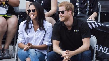 Harry and Meghan appeared in public together at the Invictus Games.
