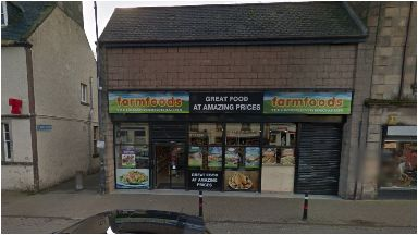 Farmfoods: Attack outside shop on Saturday afternoon.