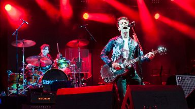 Festival: Stereophonics will headline Friday.