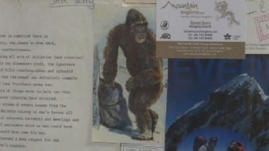 The mythical yeti is alleged to be a 7-foot tall creature.