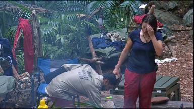 Kezia butts head with Amir again.