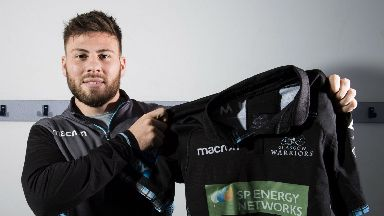Ali Price will be pulling on the Glasgow jersey for another three years at least.
