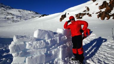 Daring to dream: Ryan hopes to complete Mount Everest trek by the time he is 19.