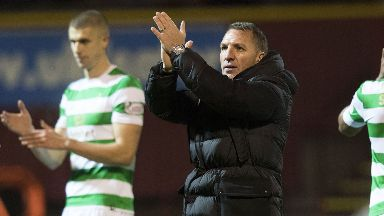 Proud: Rodgers was impressed with Celtic's fightback.