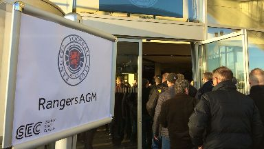 Update: Shareholders were briefed on the club's plans.