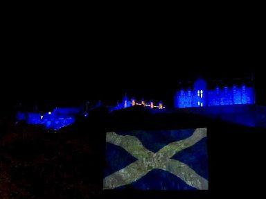 St Andrews Day celebrated at Edinburgh Castle.