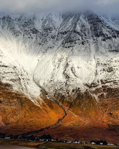 Liathach is one of the most famous of the Torridon Hills.