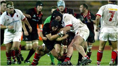 Rugby: Edinburgh take on Ulster at Meadowbank.