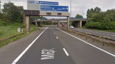 The teenager was discovered on the side of the M67 motorway.